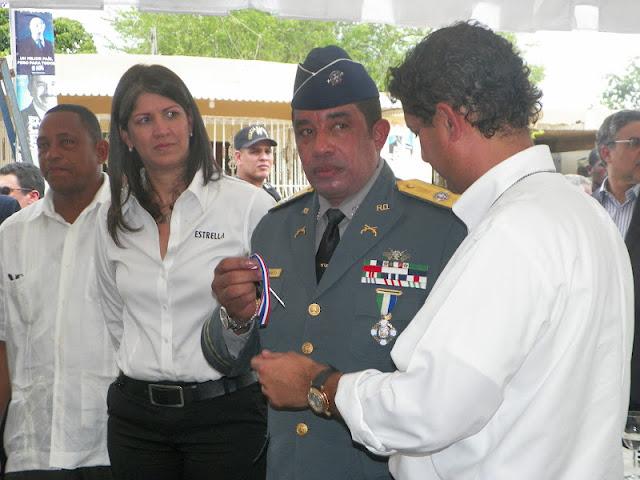 Jefe de la Policía inauguró cuartel de Villa Gautier