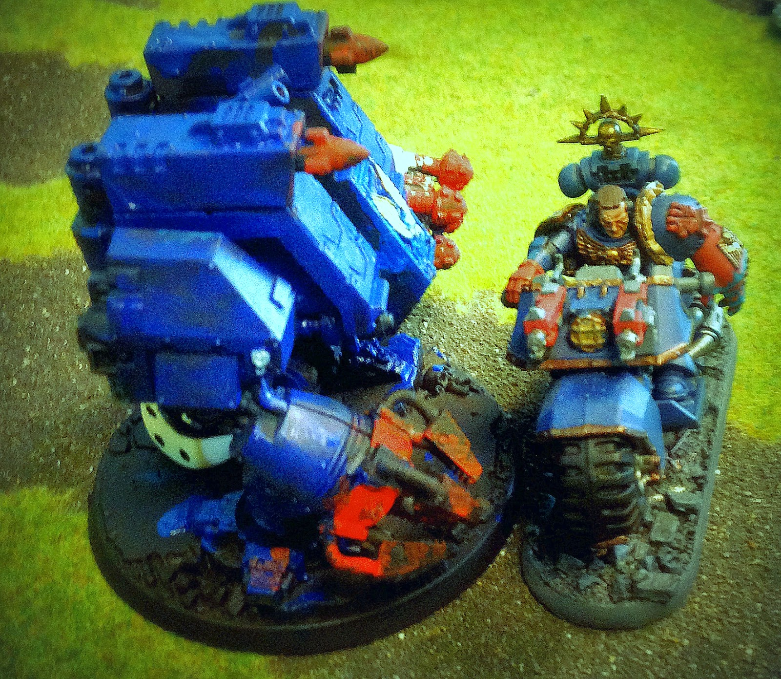 Space Marine Dreadnought close combat, Battle Gaming One