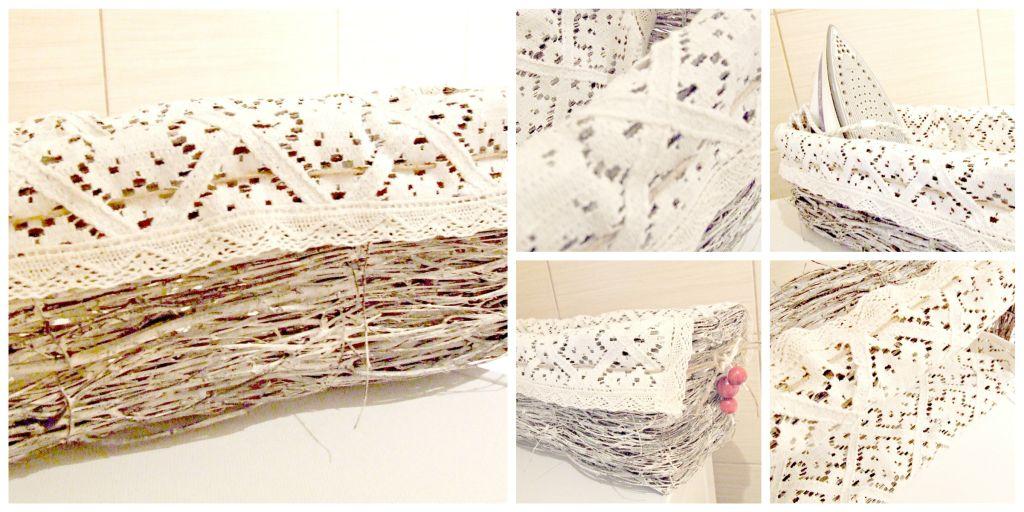 jak zrobic rustykalną dekorację do łazienki - wiklinowy koszyk Eco Manufaktura