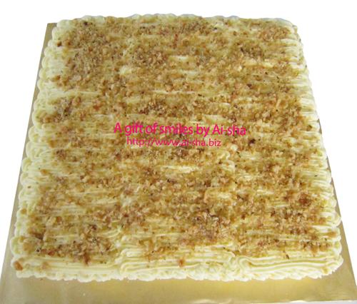Carrot Walnut Cake Ai-sha Puchong Jaya