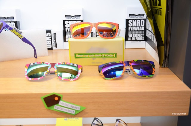 The latest sunglasses from SNRD eyewear