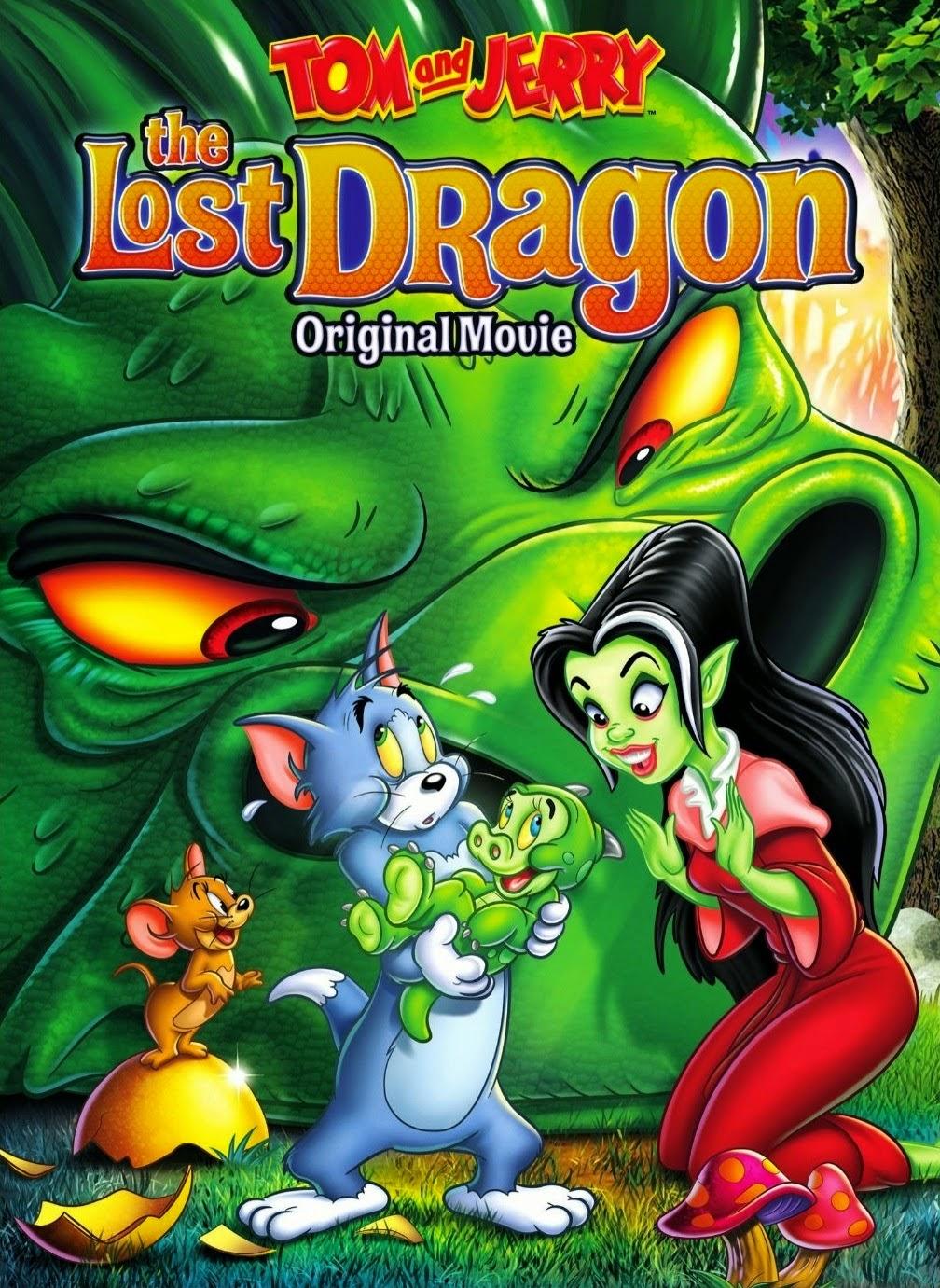 Filme Tom e Jerry O Dragão Perdido Dublado AVI DVDRip
