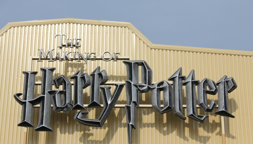 The Making Of Harry Potter Warner Brothers Studio Tour sign
