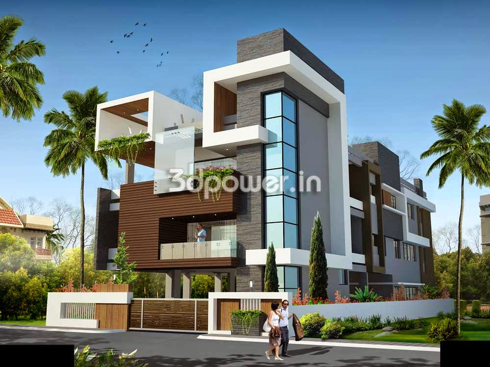Indian Contemporary  Bungalow Design