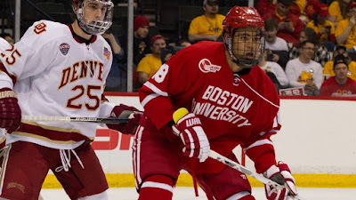 NCAA: Game Day - Terriers Begin Series In Denver