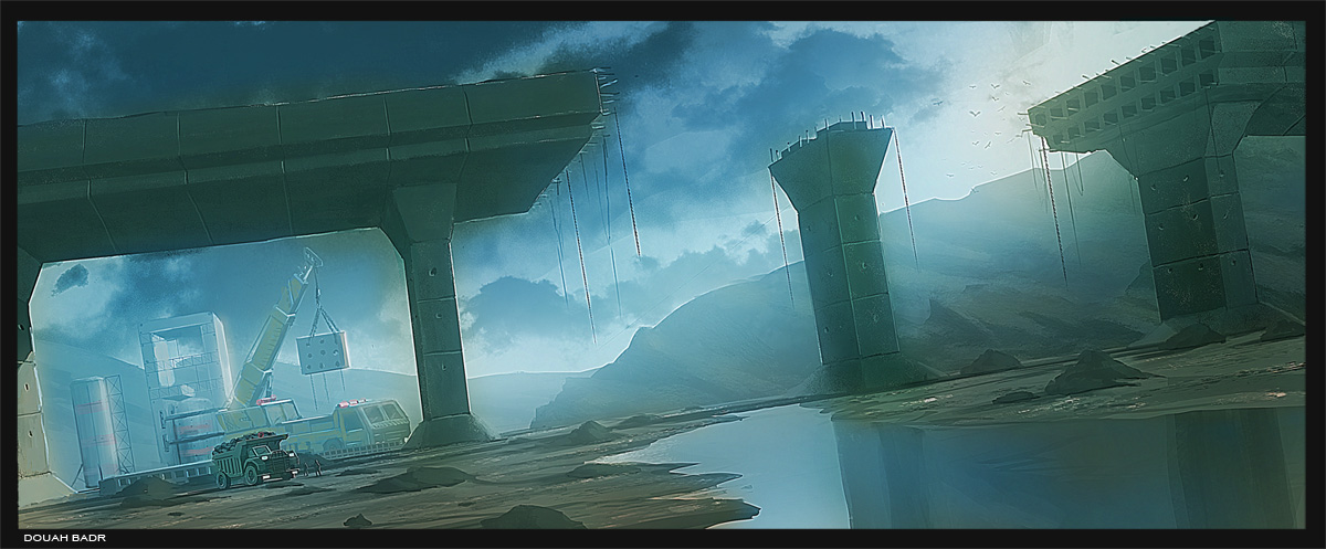 environment concept artist  looking  for   work
