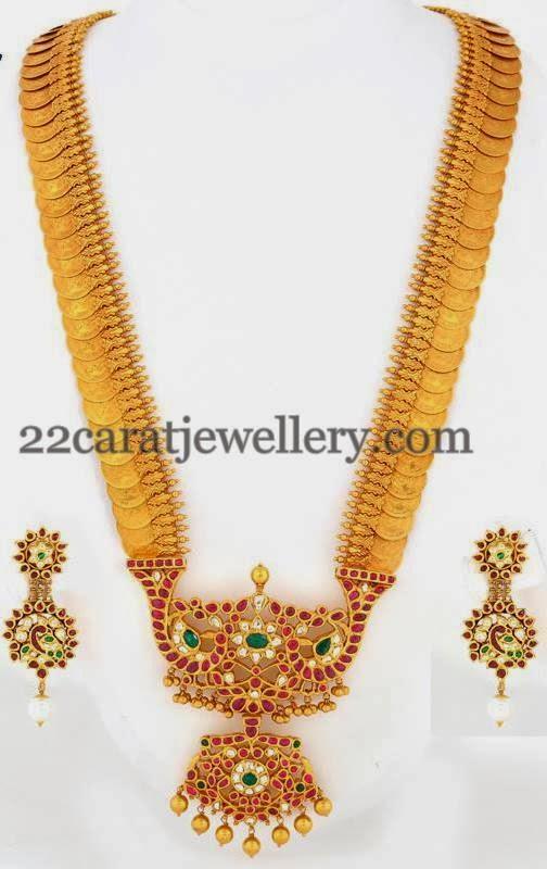 Spectacular Kasu Mala Jewellery Designs