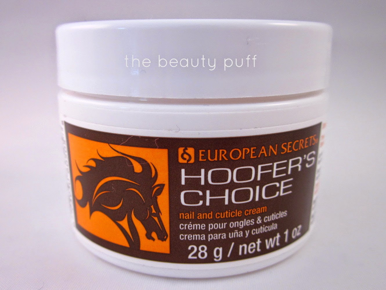 hoofers choice nail and cuticle cream - the beauty puff