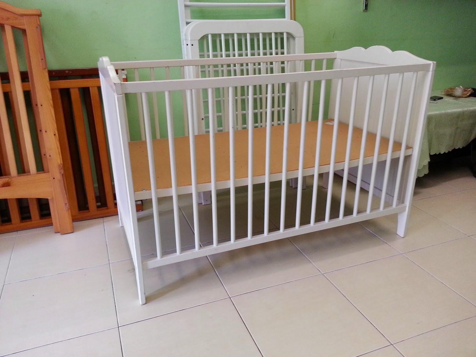 BaBY BuNDLeS Baby Cot Katil Baby Putih IKEA