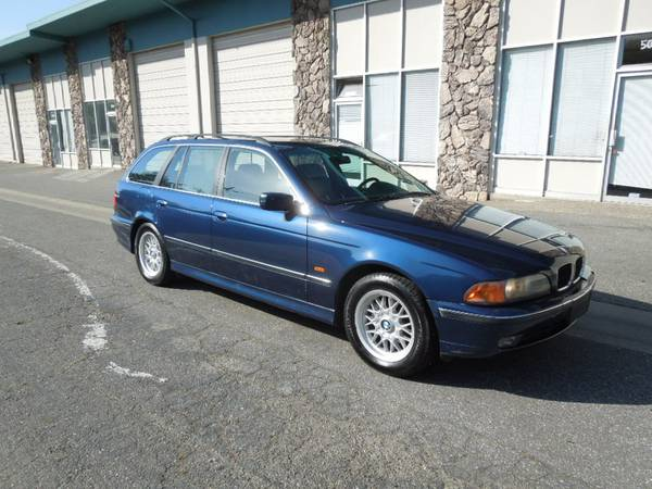 daily turismo: 5k: thrifty thursday: 1999 bmw 528i touring, e39 5
