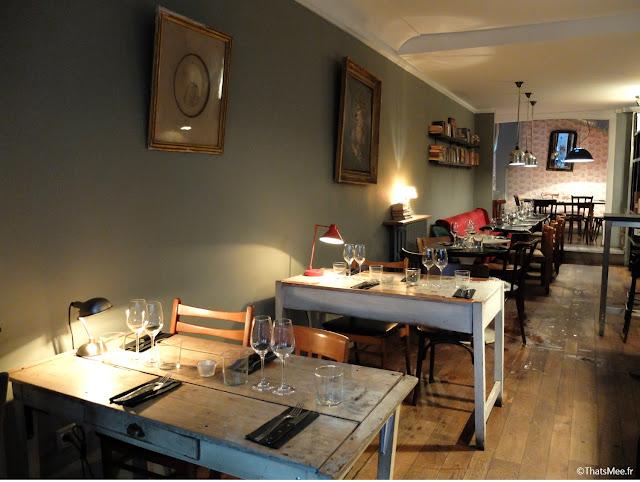 décoration vintage brocante resto L'Aller Retour Paris republique marais