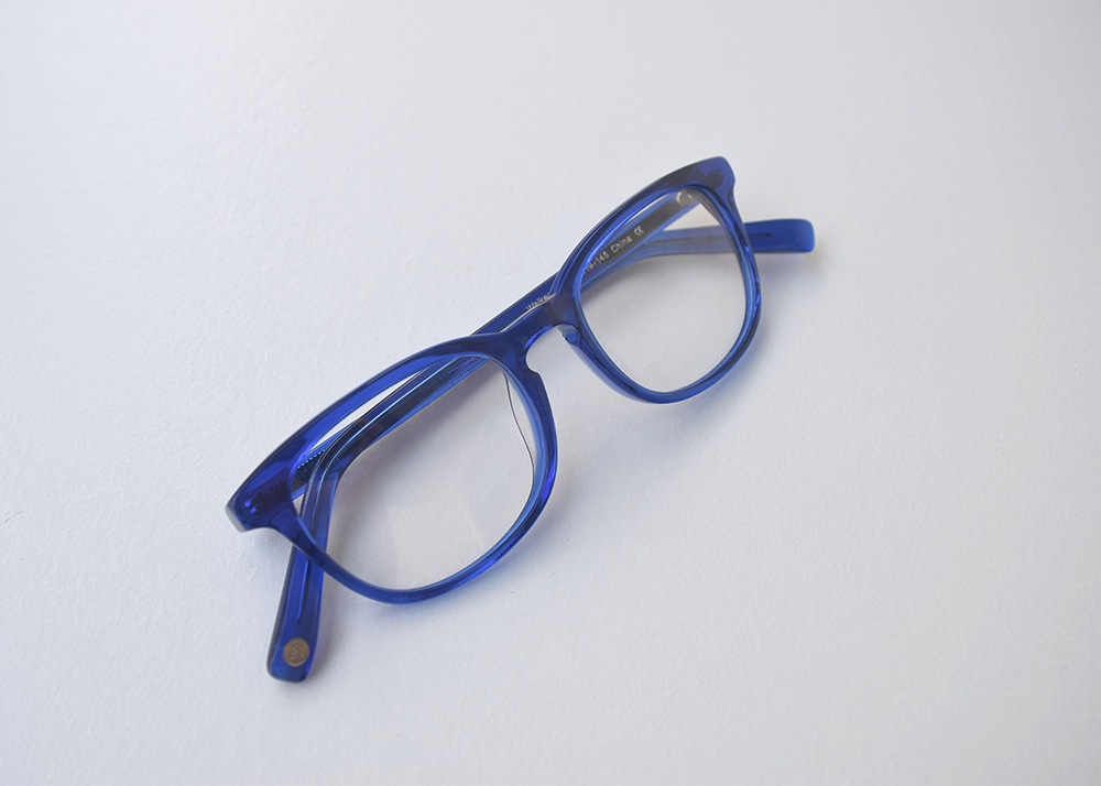 Warby Parker Home Try-On Walker in Canton Blue