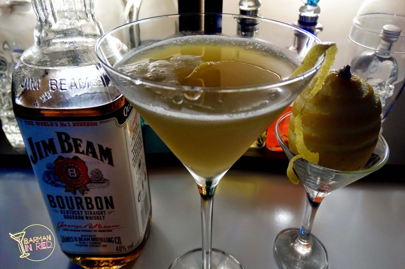 bourbon cocktail flamingo