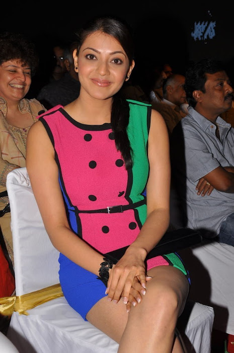 kajal at endukatne premanta audio launch latest photos