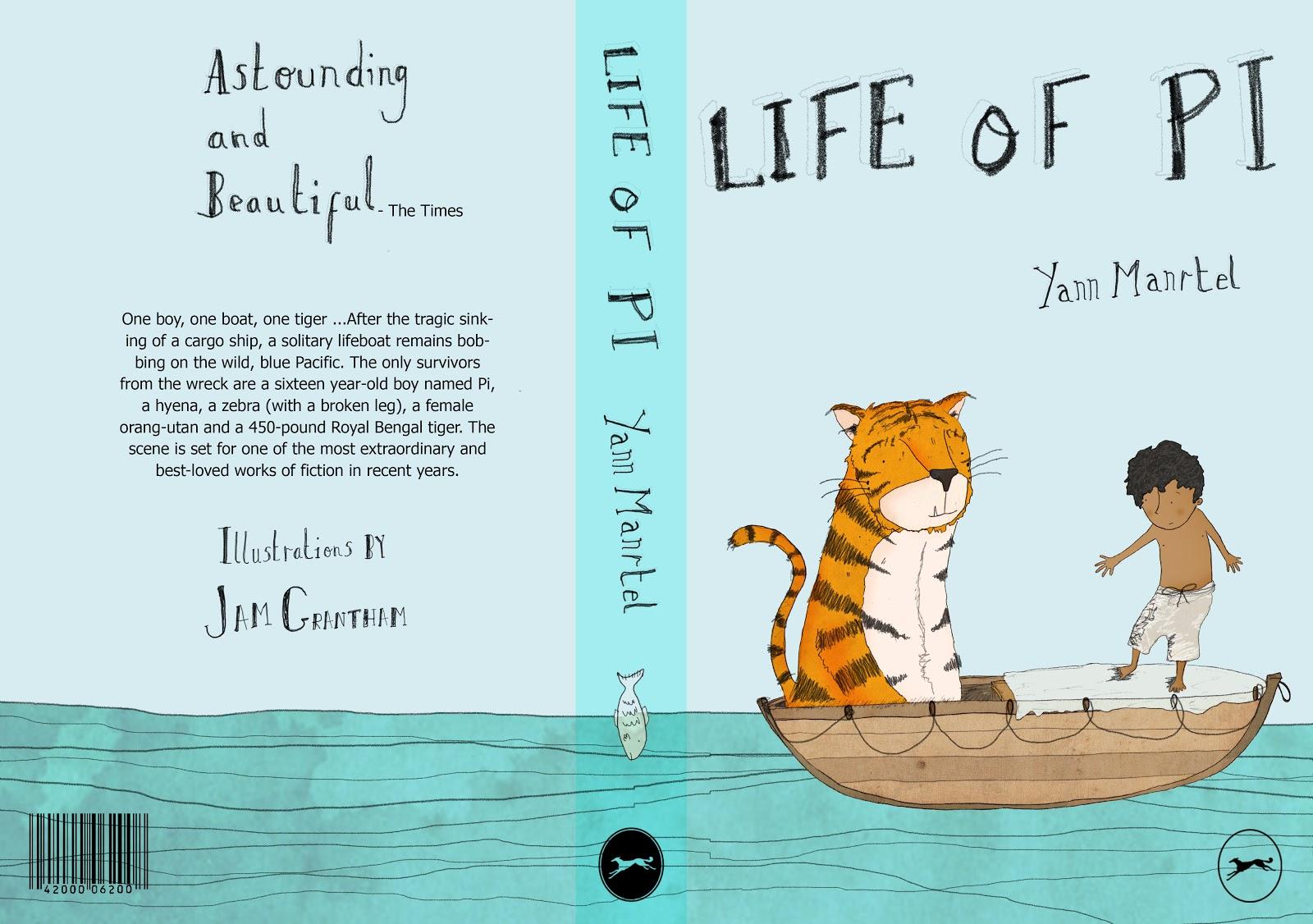 dimana bisa mendapatkan buku Life Of Pi dengan cover lucu iniLife Of Pi Book