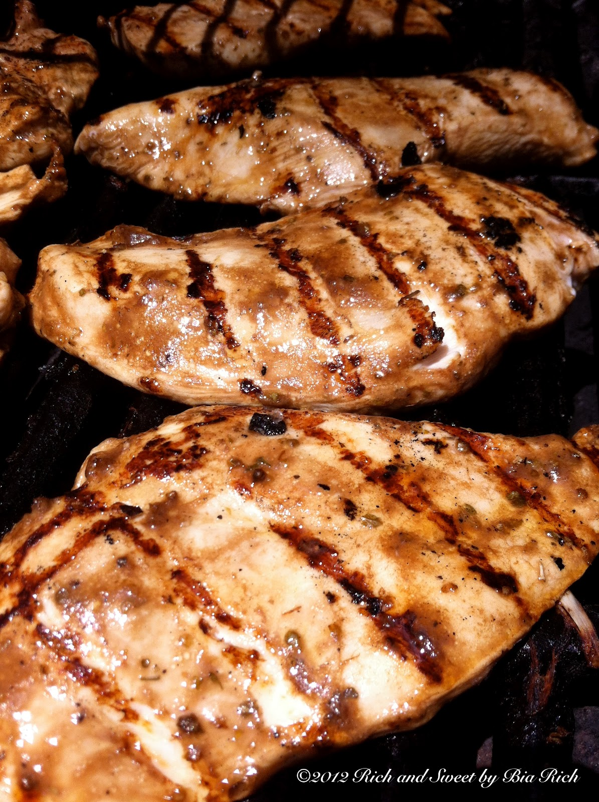 Balsamic Marinated Grilled Chicken ~ Delicious Food Recipes