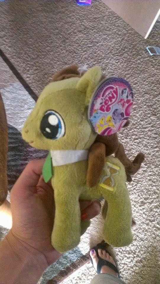 djpon3 dr whooves and derpy aurora plushies found at hot