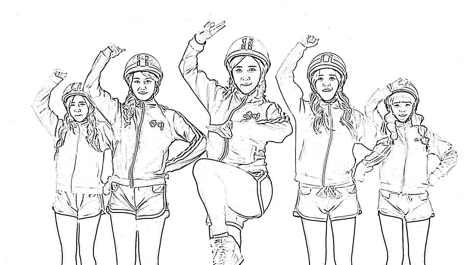 Anti Kpop Fangirl Your Very Own Kpop Coloring Book
