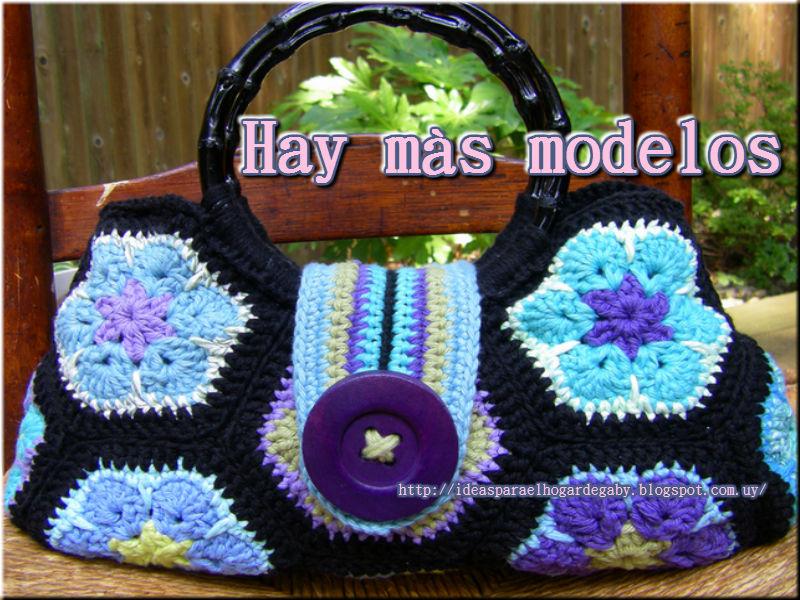 Ideas para el hogar: Flor africana en crochet