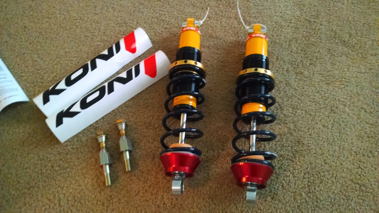 Chimera The Chevy Powered Porsche 944 Rear Coilovers