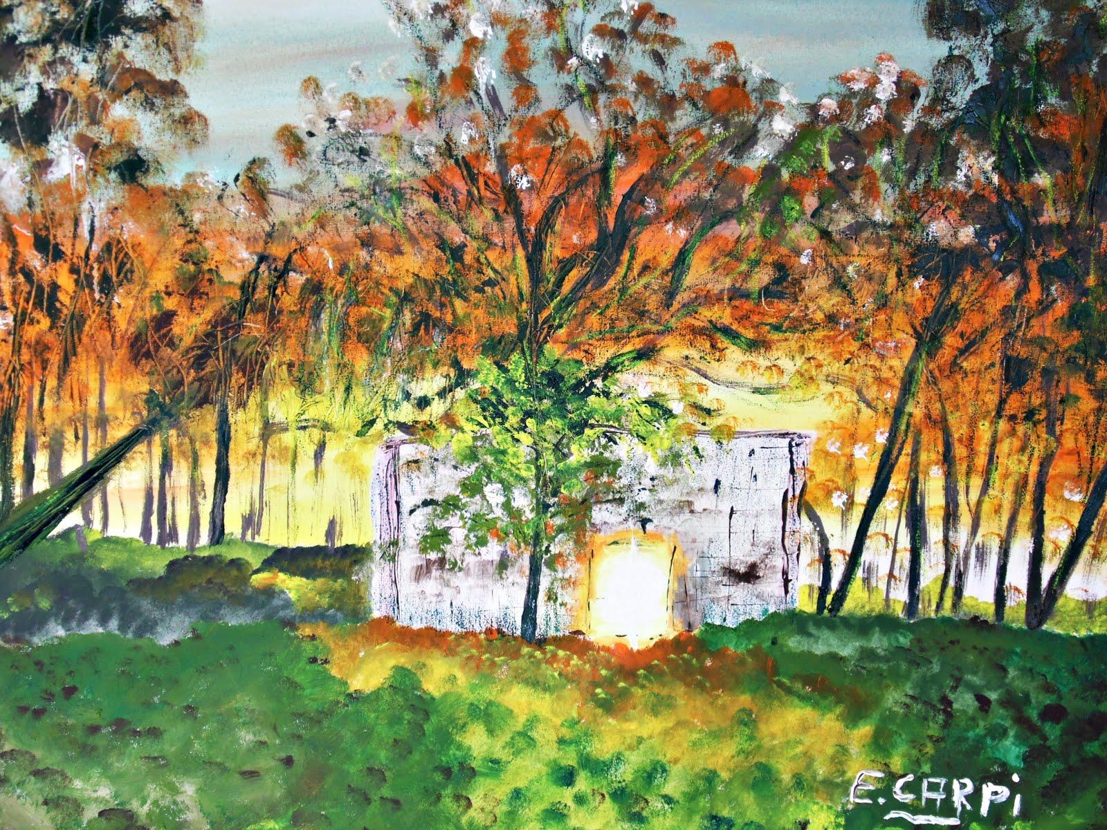 Etel Carpi, naturaleza y arte