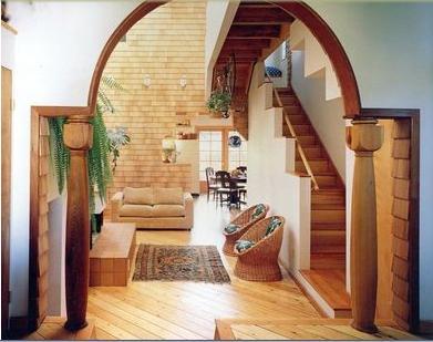 Fotos y dise os de puertas puertas correderas colgantes for Modelos de puertas corredizas de madera