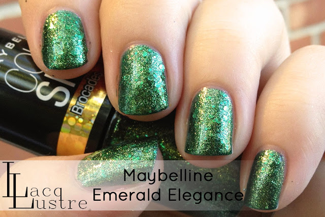 Maybelline Emerald Elegance swatch