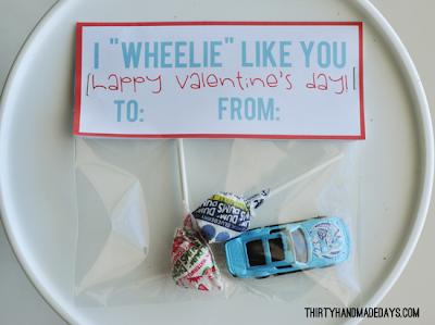 car  valentines