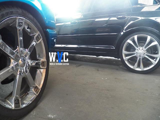 """A3 Sportback com rodas aro 20"""""""