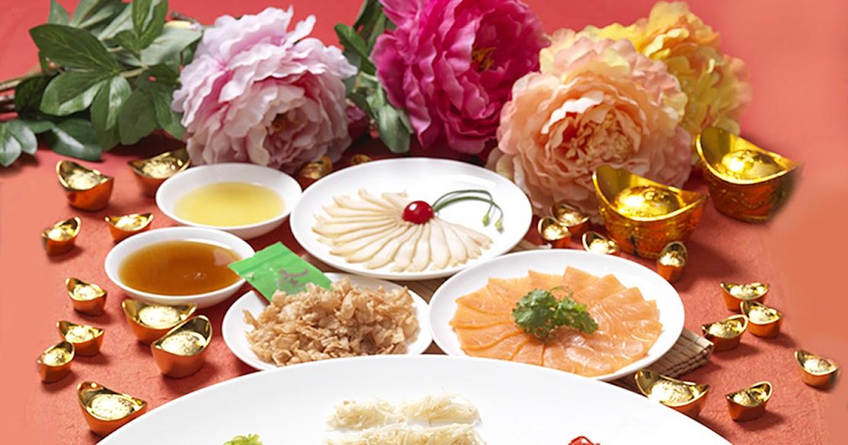 Yee Sang varieties for CNY 2016 at Zuan Yuan Chinese Restaurant ...