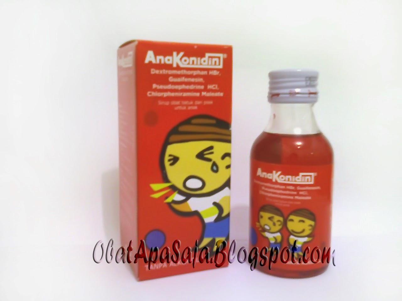 Anakonidin Obat Batuk dan Pilek untuk Anak
