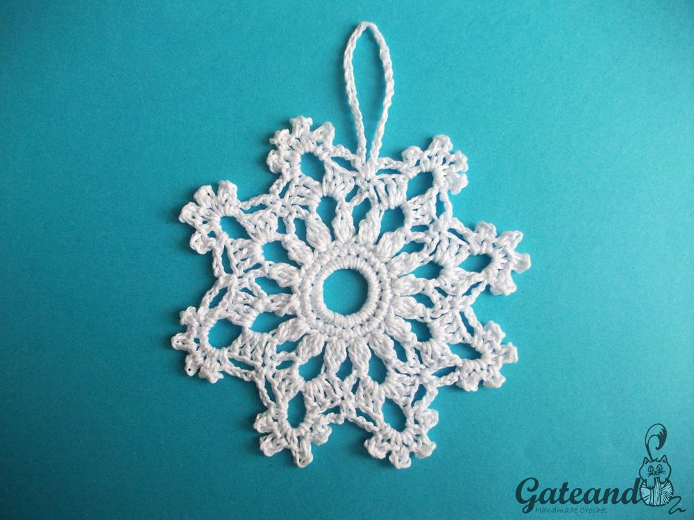 Adornos navideños: Copos de Nieve / snowflakes
