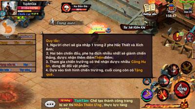 Hướng dẫn tham gia tính năng Thao Trường trong game Lãng Khách