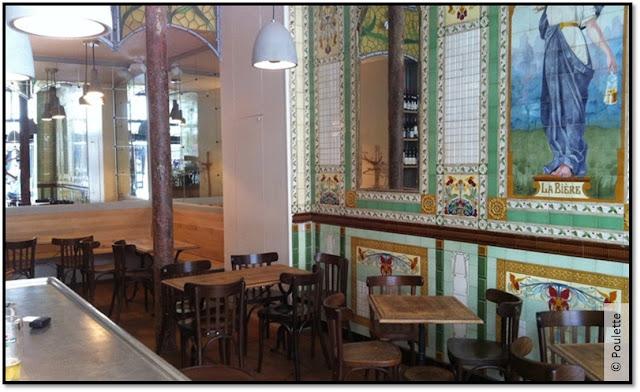nouveau resto bistrot Poulette rue Etienne Marcel Paris cuisine française