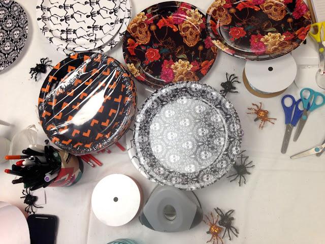 Bloggeration workshop halloween craft suplies