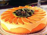 Cake Keju Dengan Mangga & Markisa