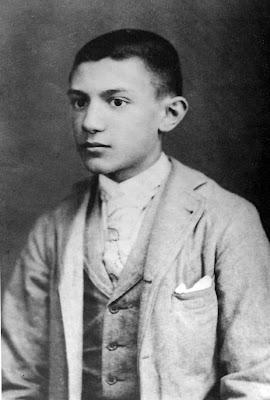 Picasso op 15-jarige leeftijd