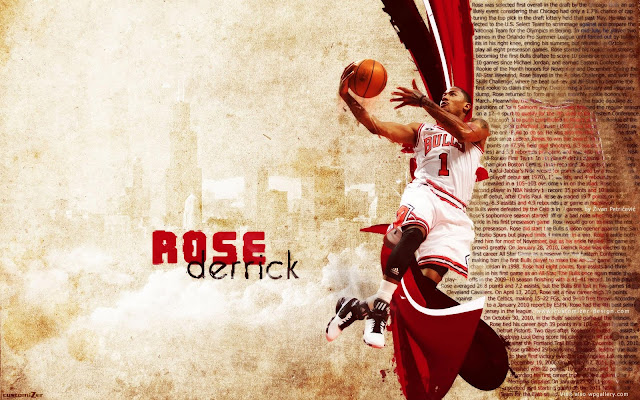 derrick rose usa wallpaper. red rose wallpaper 2011.