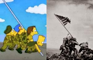 Escenas de Los Simpson basadas en hechos reales