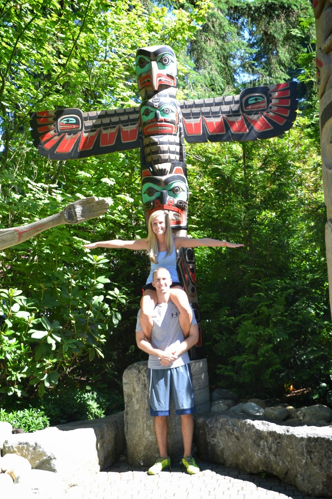 vancouver totem polls