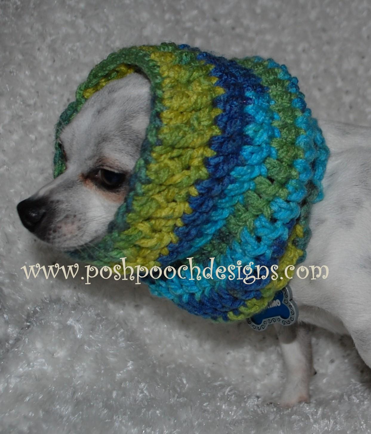 Free Crochet Pattern Dog Snood : Posh Pooch Designs Dog Clothes: Dog Snood Crochet Pattern ...