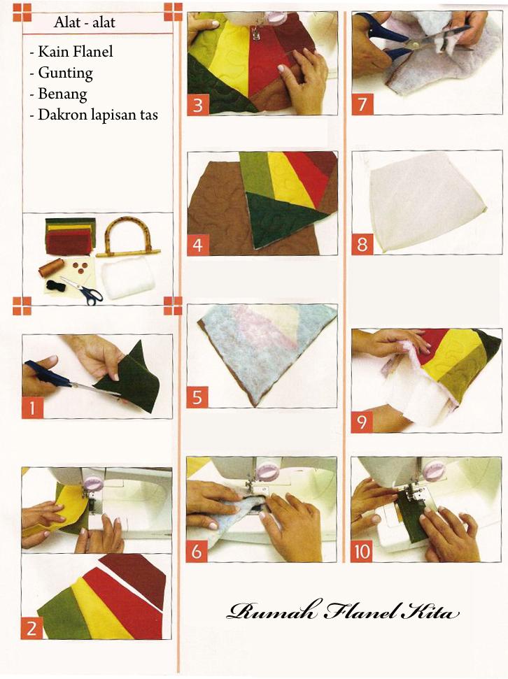 jinjing cantik dari bahan kain flanel langkah langkah pembuatannya ...