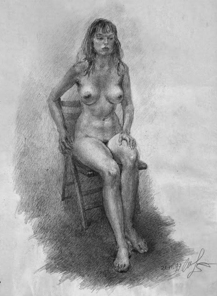 mujeres-pintadas-con-lapiz