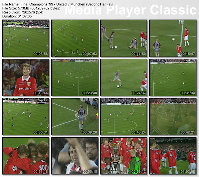 Video Legenda MU, Video Manchester United, Final Champions leauge 1999