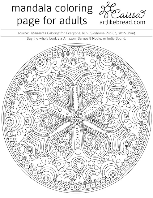 free mandala coloring pages Colesthecolossusco