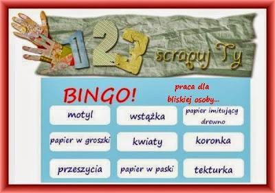 http://123scrapujty.blogspot.ie/2014/01/wyzwanie-30-bingo.html