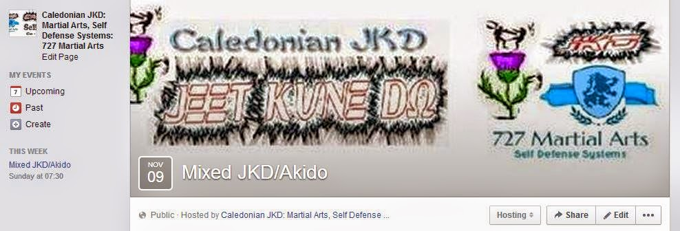 Mixed JKD/Akido