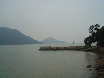 Lantau Island Tai O harbor Hong Kong