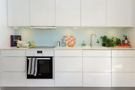 Kitchen Decor Idea Latest White Kitchen Cabinets Design