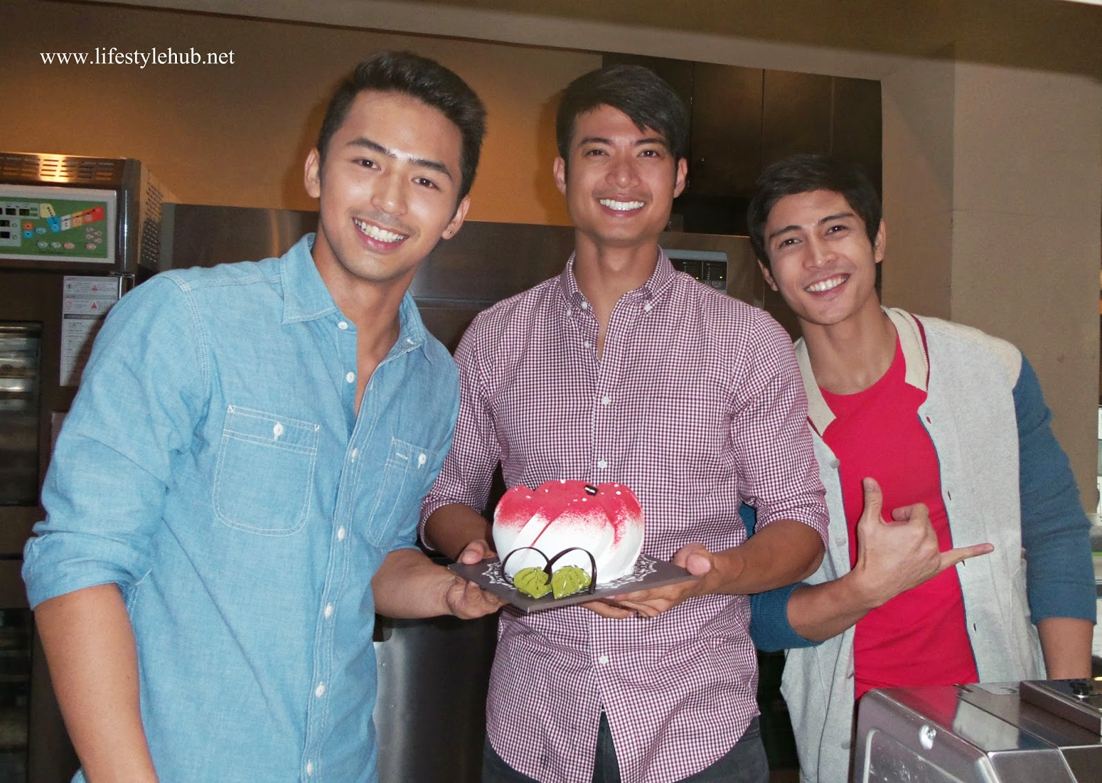 Enzo Pineda, Mikael Daez and Bryan Benedict for Tous Les Jours